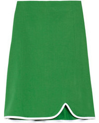 Marni Cotton Twill Skirt