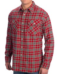 Pendleton Burnside Flannel Shirt Long Sleeve