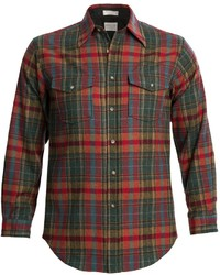 Pendleton Outdoor Shirt Wool Long Sleeve
