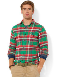 Polo Ralph Lauren Plaid Flannel Workshirt