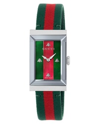 Gucci G Frame Nylon Watch
