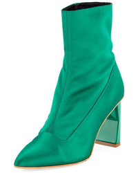 Green ankle boots original 1626729
