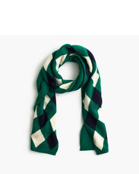 J.Crew Wool Scarf In Argyle