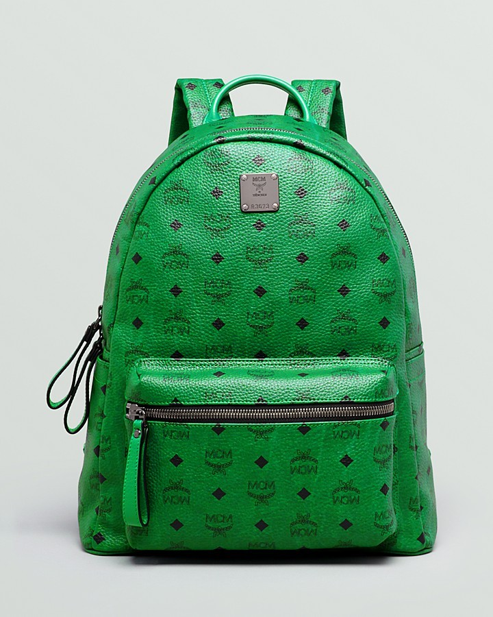 mcm stark medium monogram backpack