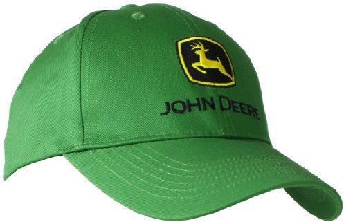 ... John Deere Trademark Logo Core Baseball Cap 64dc95dfbf3