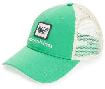 0f9b79fb923 ... Caps Vineyard Vines Whale Patch Trucker Hat Blue ...