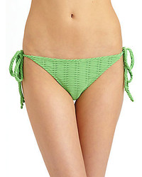 Rag and Bone Cannes Textured Bikini Bottom