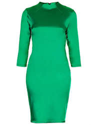 Green bodycon dress original 1384377