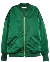 Green bomber jacket original 4528887