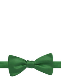 Stafford Stafford Solid Satin Self Tie Bow Tie
