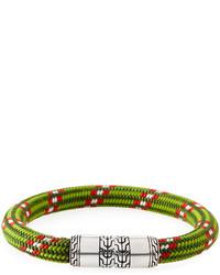 John Hardy Classic Chain Multicolor Cord Bracelet
