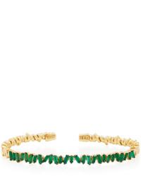 Suzanne Kalan Fireworks Emerald Bangle