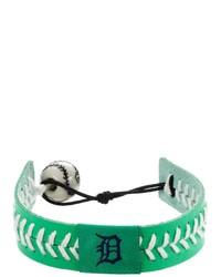 Gamewear Detroit Tigers Leather Baseball Bracelet