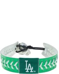 Gamewear Los Angeles Dodgers Leather Baseball Bracelet