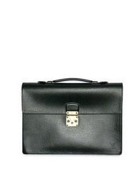 86c3eccaf1a8 WGACA Vintage Vintage Louis Vuitton Taiga Briefcase