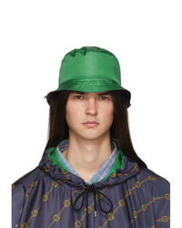 Gucci Green Nylon Bucket Hat