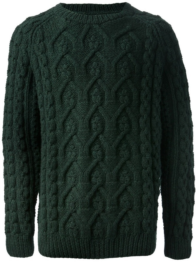 Maison Martin Margiela Cable Knit Sweater