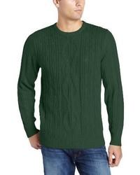 Nautica Fisherman Crew Neck Sweater