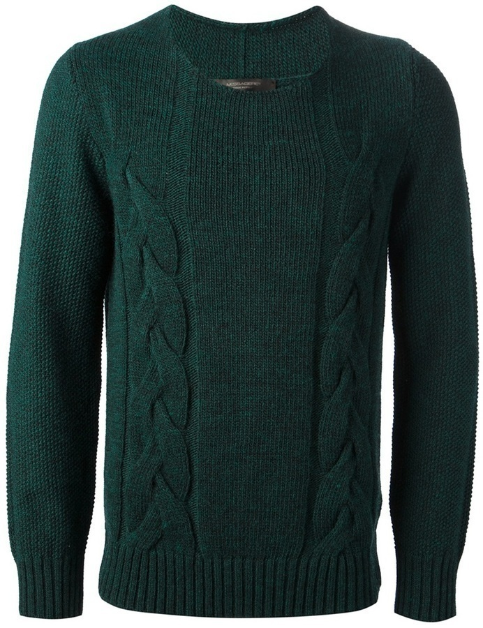 Messagerie Cable Knit Jumper