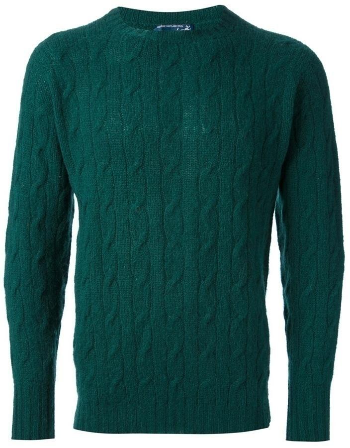 Drumohr Vintage Cable Knit Sweater