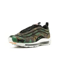 56f8d20a60 Nike Air Max 97 Premium Qs Sneakers, $577 | farfetch.com | Lookastic.com