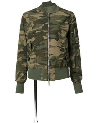 Unravel Project Camouflage Bomber Jacket