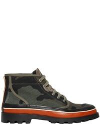 Valentino camouflage canvas desert boots medium 1343752
