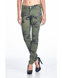 Angry Rabbit Camo Skinny Jeans