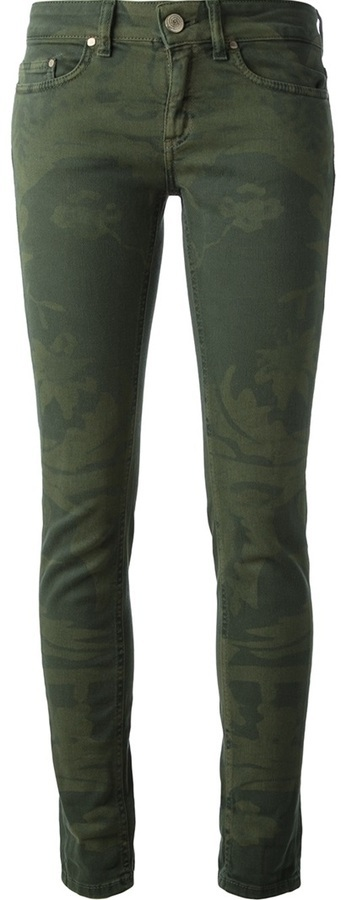 Dondup Camouflage Skinny Jean