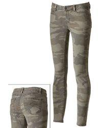 Mudd Camouflage Skinny Jeans Juniors