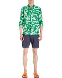 Camo print shirt medium 63242