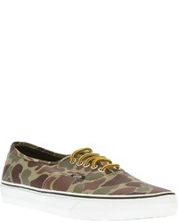 Authentic camouflage low top sneaker medium 33849