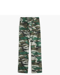 J.Crew Camouflage Foundry Pant