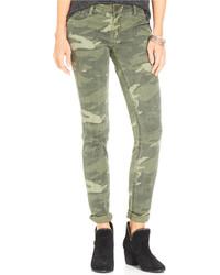 Rewash Juniors Camouflage Print Skinny Jeans