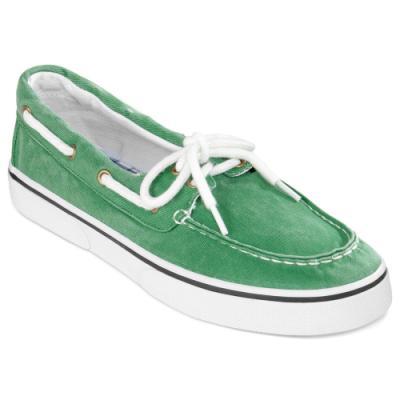 5bdd815cf819c ... St. John s Bay St John S Bay Inlet Boat Shoes Green