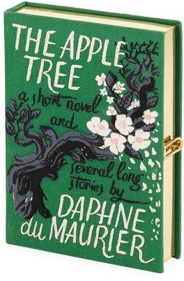 Olympia Le-Tan The Apple Tree Book Clutch Bag