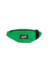 Green Canvas Fanny Pack