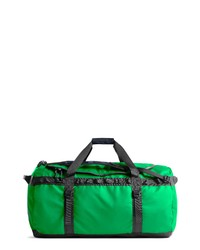 Green Canvas Holdall