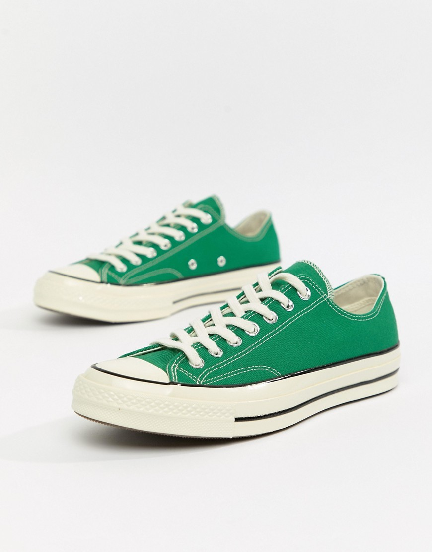Chuck Taylor 70 Ox Trainers In Green 161443c