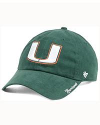 '47 Brand Miami Hurricanes Shine On Cap