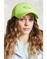 Forever 21 Elephant Graphic Baseball Cap