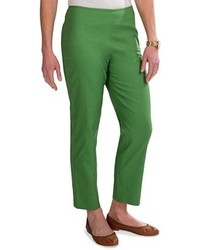 Specially made stretch pique cotton ankle pants medium 108242