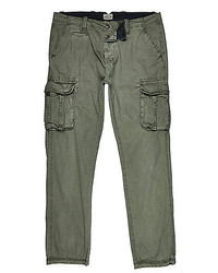 River Island Khaki Green Cargo Pants