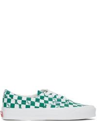 Vans Green White Og Era Lx Sneakers