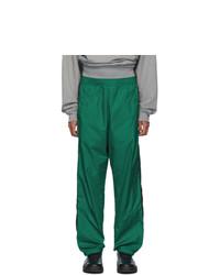 Acne Studios Acne S Green Phoenix Face Track Pants