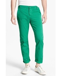Band Of Outsiders Slim Fit Twill Chinos Ultra Gree 32