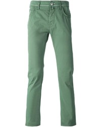Jacob Cohen Slim Fit Chino Trousers