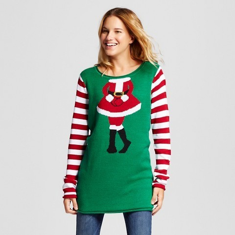 c3c6289dbec Ugly Christmas Sweater Ugly Christmas Mrs Claus Tunic, $39 | Target ...