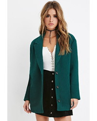 Forever 21 Textured Boxy Coat