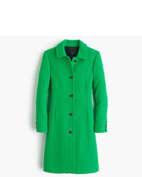 Italian double cloth wool lady day coat with thinsulate medium 371842
